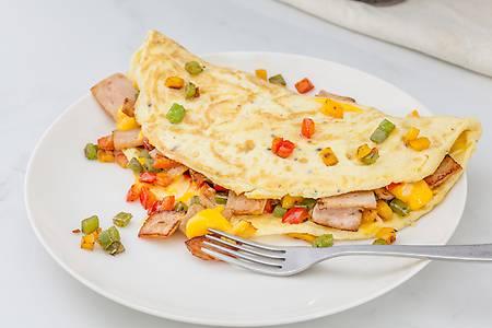 Order Chicken Ham 'n' Cheese Omelette, Garlic Bread online from ...